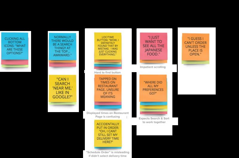 طراحی نقشه وابستگی محصول مبتنی بر تفکر طراحی - تحلیل تجربه کاربری اپلیکیشن UberEATS - مورد کاوی مدیریت محصول